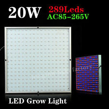 On Sale!! 20W LED Plant Grow Lights Panel Hydroponic Lamp for Flowering Plants