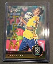 THIAGO SILVA #7 2015 Panini Select Soccer GOLD Ultimate Team 9/10 BRAZIL