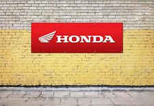 HONDA MOTORBIKE logo sign for workshop, garage, office or showroom pvc banner