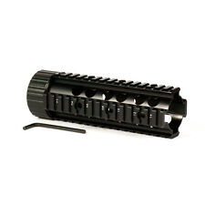 "7"" Inch Carbine Car Picatinny Free Float Handguard Quad Mount Picatinny Rail"