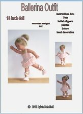 Dolls Clothes knitting pattern for 18 inch dolls, Our Generation, AG and Similar