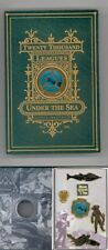 Disney Catalog 20,000 Leagues Under the Sea Nautilus Verne Book Boxed Pin Set