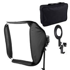 Portable Studio 80cm 32 inch Photo Soft Box for Camera Hot Shoe Flash Speedlite