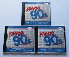 Mega 90s - 3 CDs Primal Scream Firehouse Europe Martika Pharao Star Wash Oasis