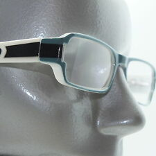 Beach Drama Blue White Summer Fun Reading Glasses +1.50