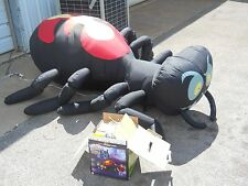 HALLOWEEN INFLATABLE AIRBLOWN 8 FT SPIDER SCARY CREEPY OUTDOOR YARD LAWN DECOR