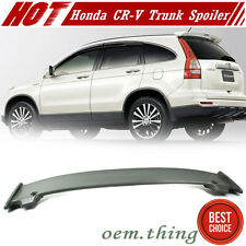 Unpaint For Honda CR-V 3rd Mugen Style Rear Trunk Boot Spoiler CRV 2007-2011