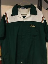 Vintage Bowling Shirt XL Hilton Rockabilly Masonic Lodge Masons