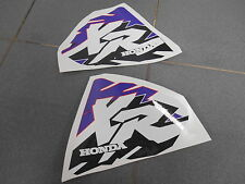 PERFORATED XR 600 400 XR200 XR250 XR400 XR600 GRAPHICS FUEL TANK DECALS CUSTOM