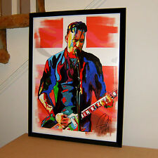 Michael Poulsen, Volbeat, Vocals, Guitar, Heavy Metal, Rock, 18x24 POSTER w/COA2