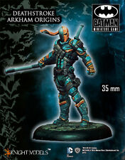 KNIGHT MODELS DC DEATHSTROKE ARKHAM ORIGINS METAL MARVEL NEW