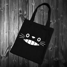 Totoro Cute Face Tote Bag Tumblr Blogger fashion homies swag cat kitten 38x42cm
