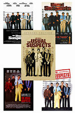 THE USUAL SUSPECTS - SET OF 5 - A4 POSTER PRINTS # 1