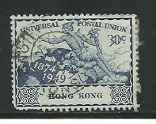 Hong Kong Stamps- Scott # 182/CD308-30c-Canc/LH-1949