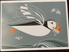 CHARLEY CHARLES HARPER    The Name is Puffin   Art card  New