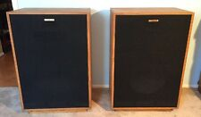 KLIPSCH CORNWALL HORN SPEAKERS IN BIRCH FINISH LAKELAND FLA PICKUP ONLY