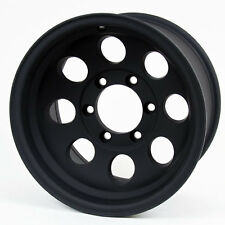 Pro Comp Alloy Wheels Series 7069, 15x8 with 6 on 5.5 Bolt Pattern - Flat Black