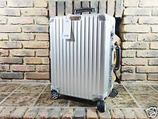 Rimowa Classic Flight Cabin MULTIWHEEL 35L Carry-On IATA Aluminium NEW 97153004