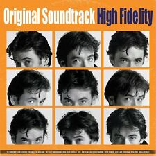 High Fidelity - Original Soundtrack - Limited 2 x Orange Vinyl LP *NEW & SEALED*