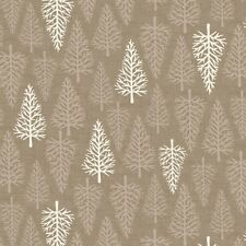SCANDI CHRISTMAS NATURAL TREES FABRIC