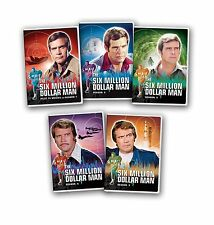 Six Million Dollar Man Complete Series Season 1-5 + Pilot TV Movies NEW DVD SET