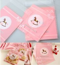 20pc Funny Pink Horse Lovely Wedding Cello Candy Cookies Treat Party Gift Bags