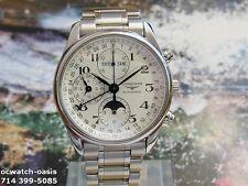 LONGINES Triple date Moonphase Automatic 3 Reg. Chronograph,1 Year Warranty