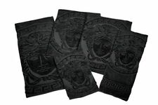 VERSACE MEDUSA BLACK Towel Set  6 pieces = 2Bath 2Hand 2Face Towels