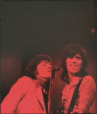THE ROLLING STONES POSTER PAGE 1970 MICK JAGGER & KEITH RICHARDS . Y39
