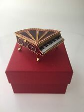 SWAROVSKI CRYSTAL PIANO JEWERLY  BOX