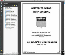 COMPLETE Oliver Fleetline Super 66 77 88 550 660 770 880 SERVICE MANUAL - DVD