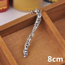 Free Shipping 5pcs 80mm Tibetan Silver Charms Cirrus Crafts Findings Bookmarks