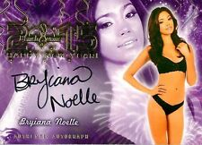 Bryiana Noelle 2015 Bench Warmer Happy New Year Autograph Auto