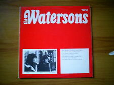 THE WATERSONS S/T UK LP TOPIC RECORDS REISSUE