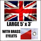 LARGE 5ft X 3ft 5'x3' UNION JACK BRITISH UK NATIONAL FLAG OLYMPIC SPORT JUBILEE