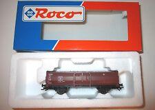 """""""DB"""" offener Güterwagen freight car, Roco 46010 in 1:87 H0 boxed Wechselstrom!"""