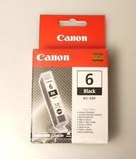 (PRL) CANON BCI-6BK BLACK ORIGINALE CARTUCCIA INCHIOSTRO ORIGINAL INK CARTRIDGE