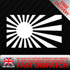 RISING SUN Jap Car Sticker Decal For JDM Illest Race Drift Stance Funny sti type