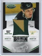 BRETT HULL Stars 2010/11 Certified Big Men On Campus Patch 22/25 Jersey # 1/1