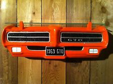 1969 Pontiac GTO Judge Car Wall Shelf -US orders ship from WA