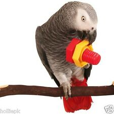 PARROT FOOT TOY JUMBO PLASTIC NUT & BOLT AFRICAN GREY MACAW PLAY