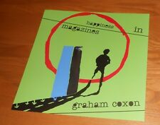 Graham Coxon Happiness in Magazines 2-Sided Flat Square Poster 12x12