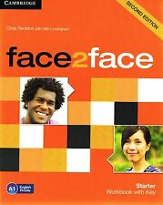 CAMBRIDGE Face2face Starter Workbook A1 with Key SECOND EDITION @Brand New Book@
