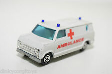 YATMING 1501 FORD ECONOLINE VAN AMBULANCE NEAR MINT CONDITION