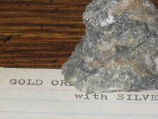 CLASSIC GOLD ORE with Silver Copper & Lead of Consolidated Mine Washington State