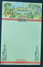 MENU ANCIEN - VITTEL LE CASINO-