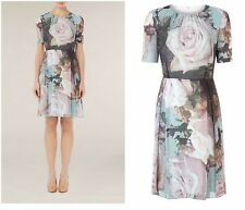 NEW Stunning Ladies Dress by KALIKO UK10 /EUR36 Floral RRP £129 Ted Baker style