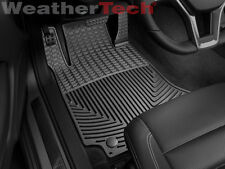 WeatherTech® All-Weather Floor Mats - Mercedes C-Class Coupe - 2008-2014 - Black