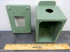"""HOFFMAN ELECTRICAL ENCLOSURE A6044SC 6""""X4""""X4 SCREW COVER CONNECTION BOX"""