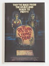 Return of the Living Dead FRIDGE MAGNET (2 x 3 inches) movie poster zombie
